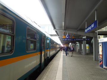 レーゲンスブルク駅