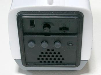 背後のボタン