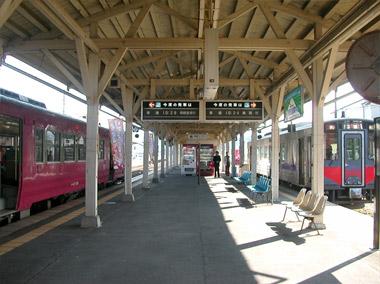 浜坂駅ホーム
