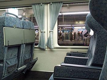 383系グリーン席