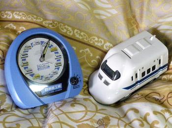 新幹線目覚まし時計